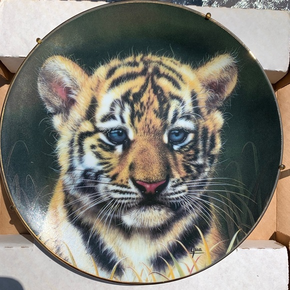 Princeton Gallery CUBS OF THE GREAT CATS Tiger 1991